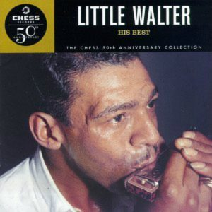 CD cover, Little Walter, Chess Records 50th Anniversary Collection.