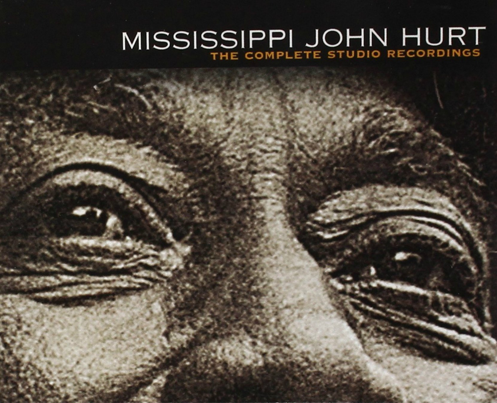 CD cover, The Complete Studio Recordings, by Mississippi John Hurt
