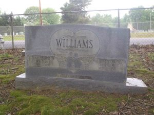 Nat D. Williams grave, New Park cemetery, Memphis, Tennessee