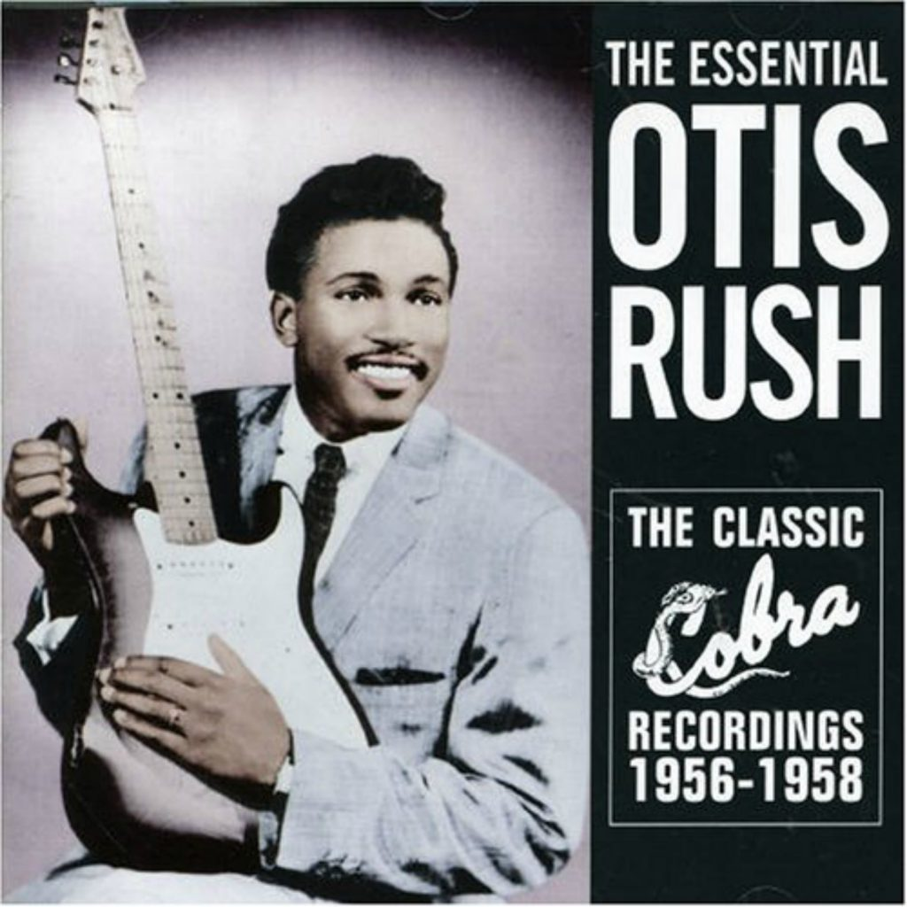 CD cover, Classic Cobra Records Recordings 1956-1958 by Otis Rush