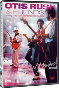 DVD cover, Live At Montreux 1986, by Otis Rush