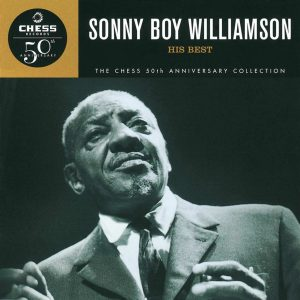 CD cover, Sonny Boy Williamson, Chess Records 50th Anniversary Collection.