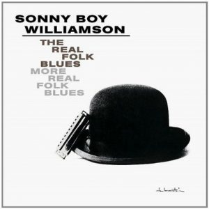 CD cover, The Real Folk Blues-More Real Folk Blues, by Sonny Boy Williamson, on Chess Records