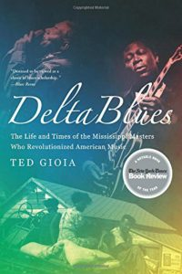Book cover, Delta Blues, by Ted Gioia