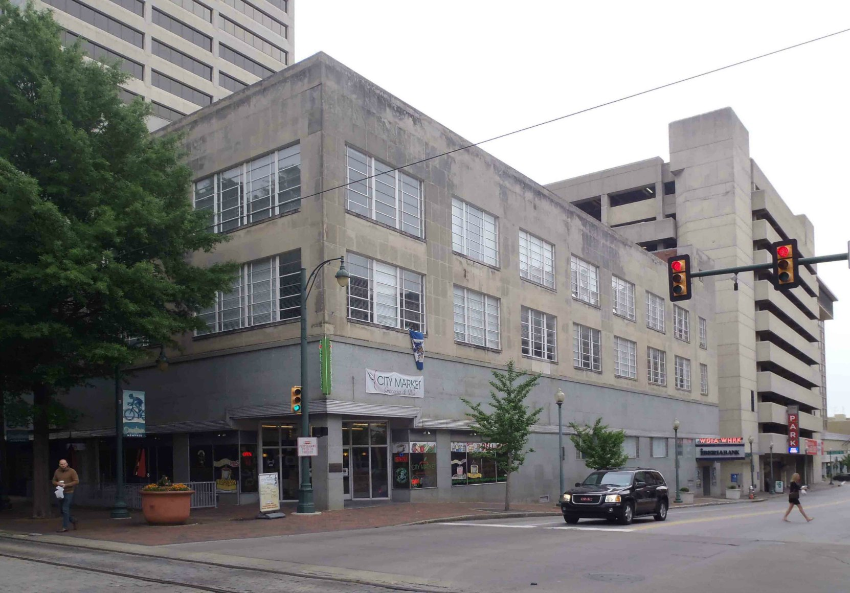 The WDIA radio station is in this building on Union Avenue in downtown Memphis, Tennessee