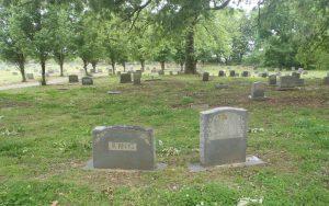 Carl Lee Cunningham grave, New Park Cemetery, Memphis, Tennessee