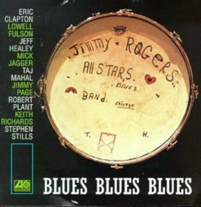 CD cover, Blues Blues Blues by Jimmy Rogers, on Atlantic Records
