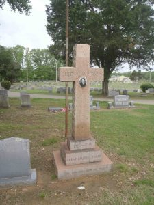 Queen C. Anderson grave, New Park Cemetery, Memphis, Tennessee