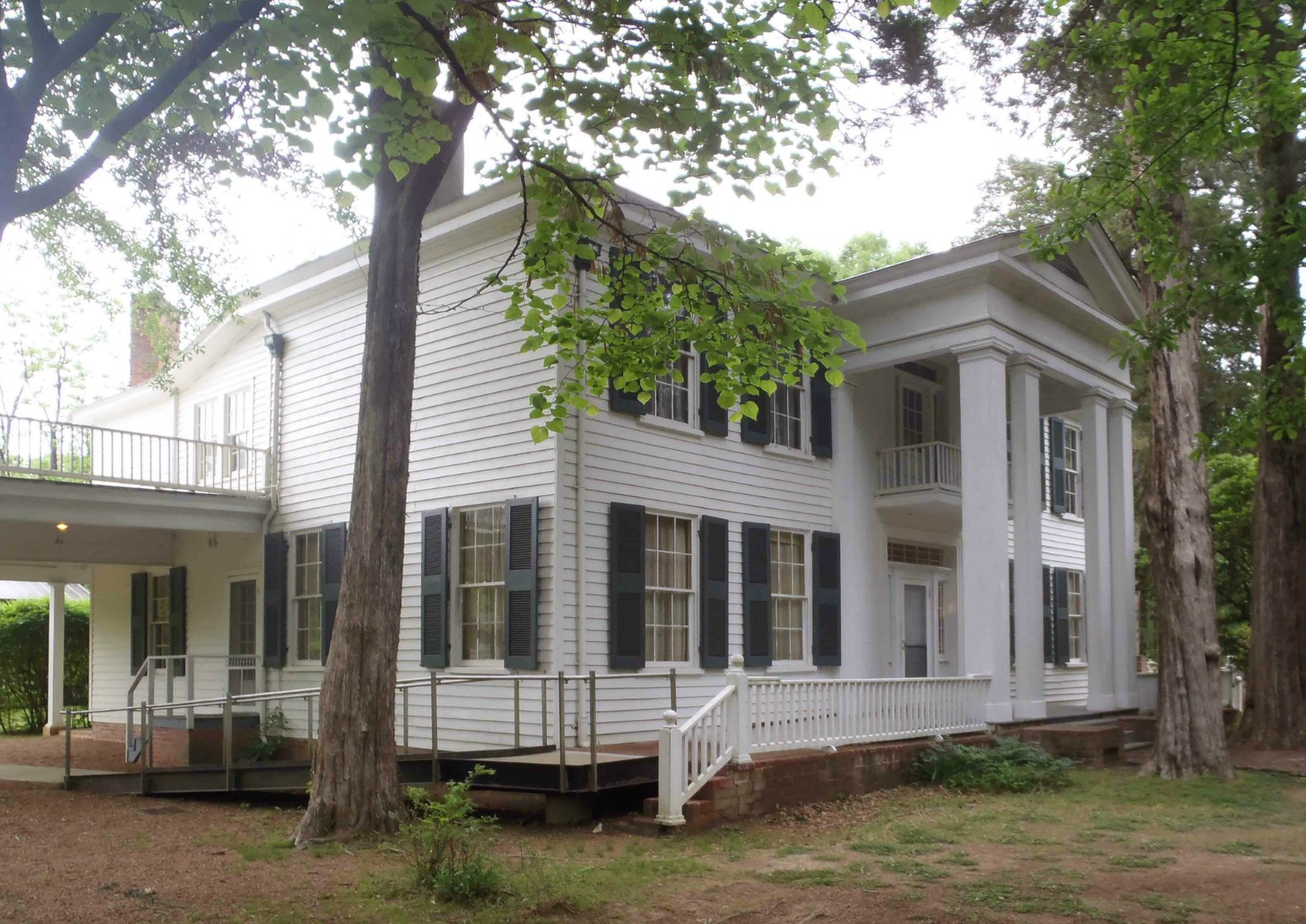 Rowan Oak, William Faulkner's home from 1930 until his death in 1962.