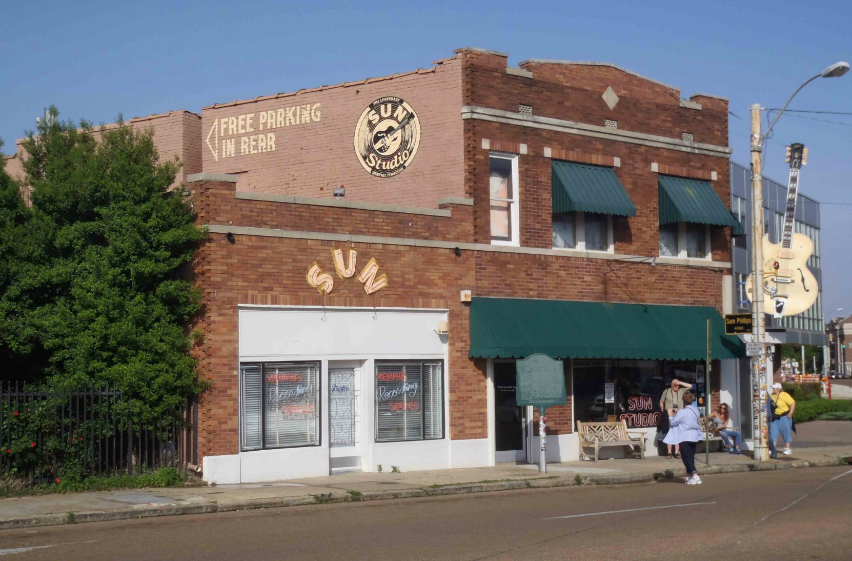 The Memphis Recording Service, Sun Records and Sun Studio, 706 Union Avenue, Memphis, Tennessee