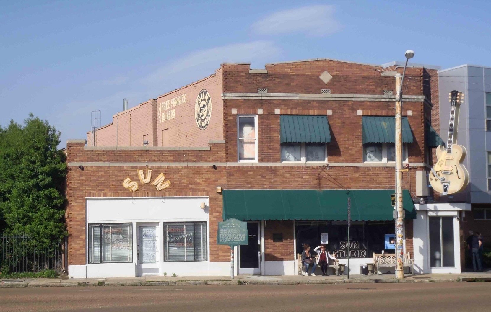 The Memphis Recording Service, Sun Records and Sun Studio, 706 Union Avenue, Memphis, Tennessee