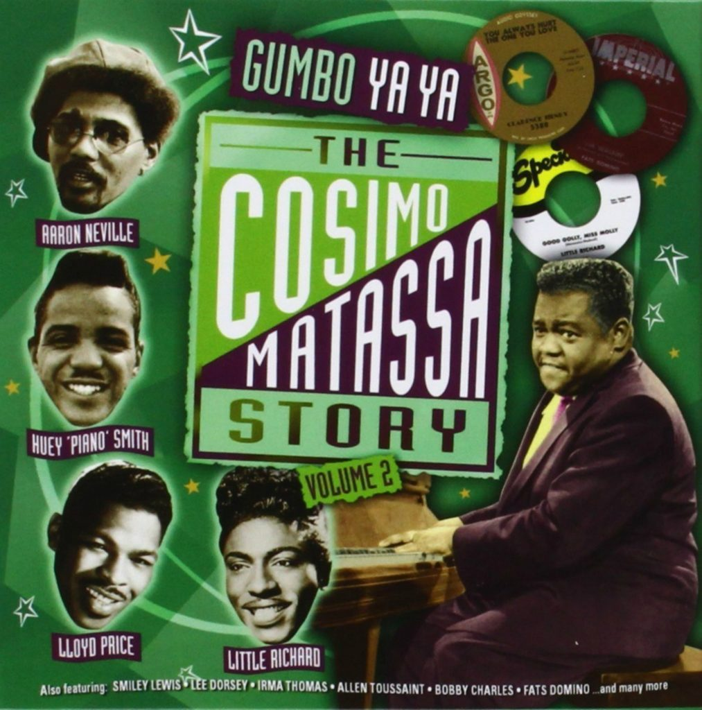 CD cover, The Cosimo Matassa Story, Volume 2, a 4 CD set on Proper Records