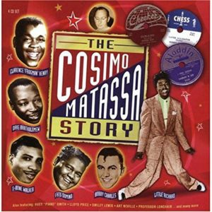 CD cover, The Cosimo Matassa Story, a 4 CD set on Proper Records