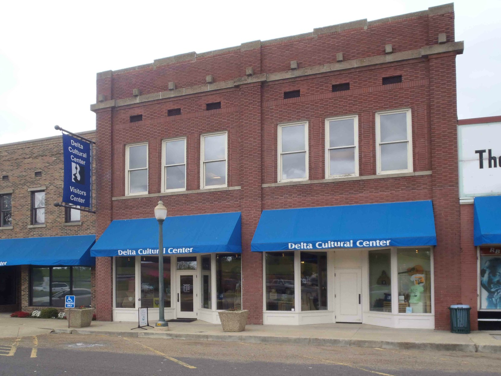This building is now part of the Delta Cultural center on Cherry Street in downtown Helena, Arkansas