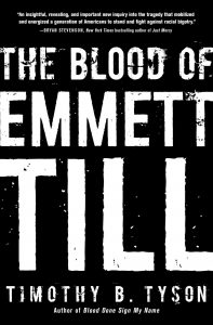 Tim Tyson, The Blood of Emmett Till, book cover