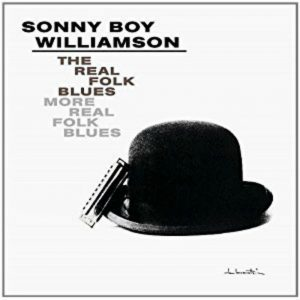 The Real Folk Blues/More Real Folk Blues by Sonny Boy Williamson, album cover
