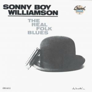 The Real Folk Blues by Sonny Boy Williamson, album cover