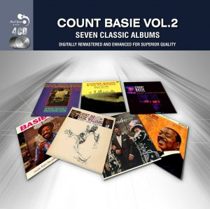 CD cover, Count Basie Vol. 2, Seven Classic Albums, released on the Real Gone Music Company label