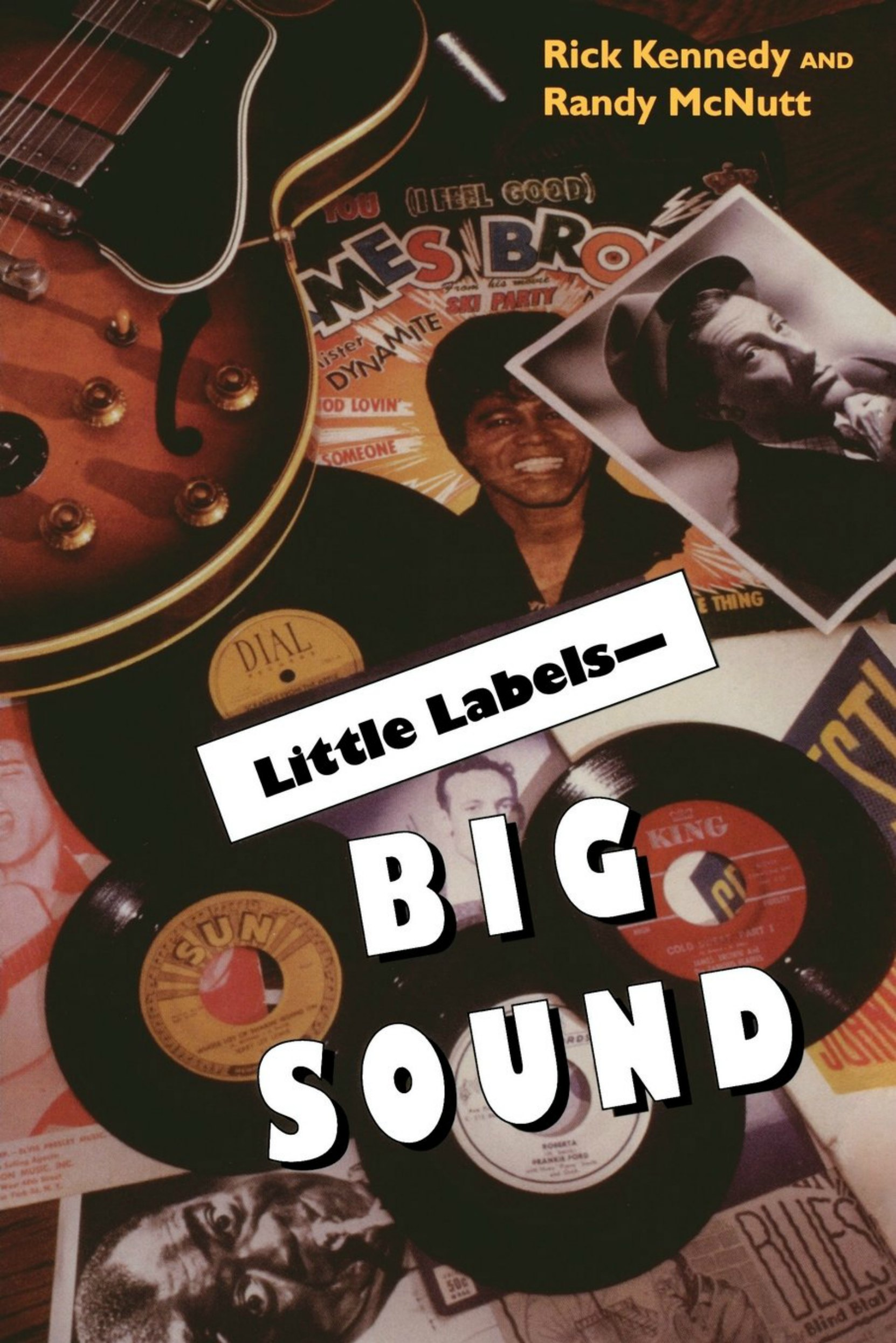 Book cover, Little Labels - Big Sound by Rick Kennedy and Randy McNutt