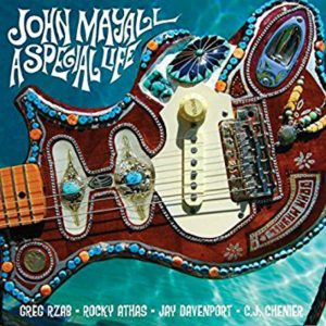 Album cover, John Mayall, A Special Life, released in 2014