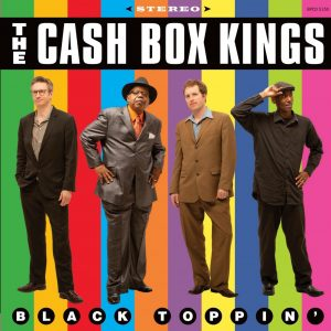 Album cover, Black Toppin', by The Cash Box KIngs. Released in 2013 on Warner Music.