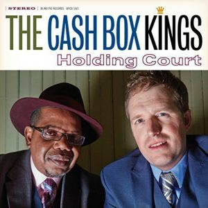 Album cover, Holding Court, by The Cash Box KIngs. Released in 2015 on Blind Pig Records.