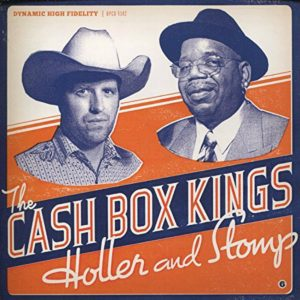 Album cover, Holler and Stomp, by The Cash Box KIngs. Released in 2011 on Warner Music.