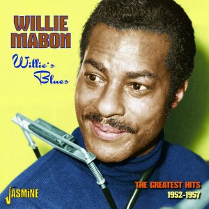 CD cover, Willie Mabon - Willie's Blues, The Greatest Hits 1952-1957 - released on Jasmine Records
