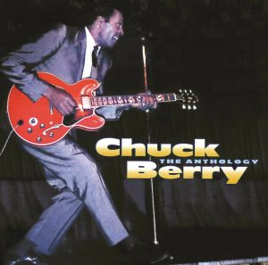 Album cover - Chuck Berry, The Anthology, a 2 CD set we have included on our list of Recommended Recordings