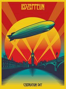 DVD cover - Led Zeppelin, Celebration Day