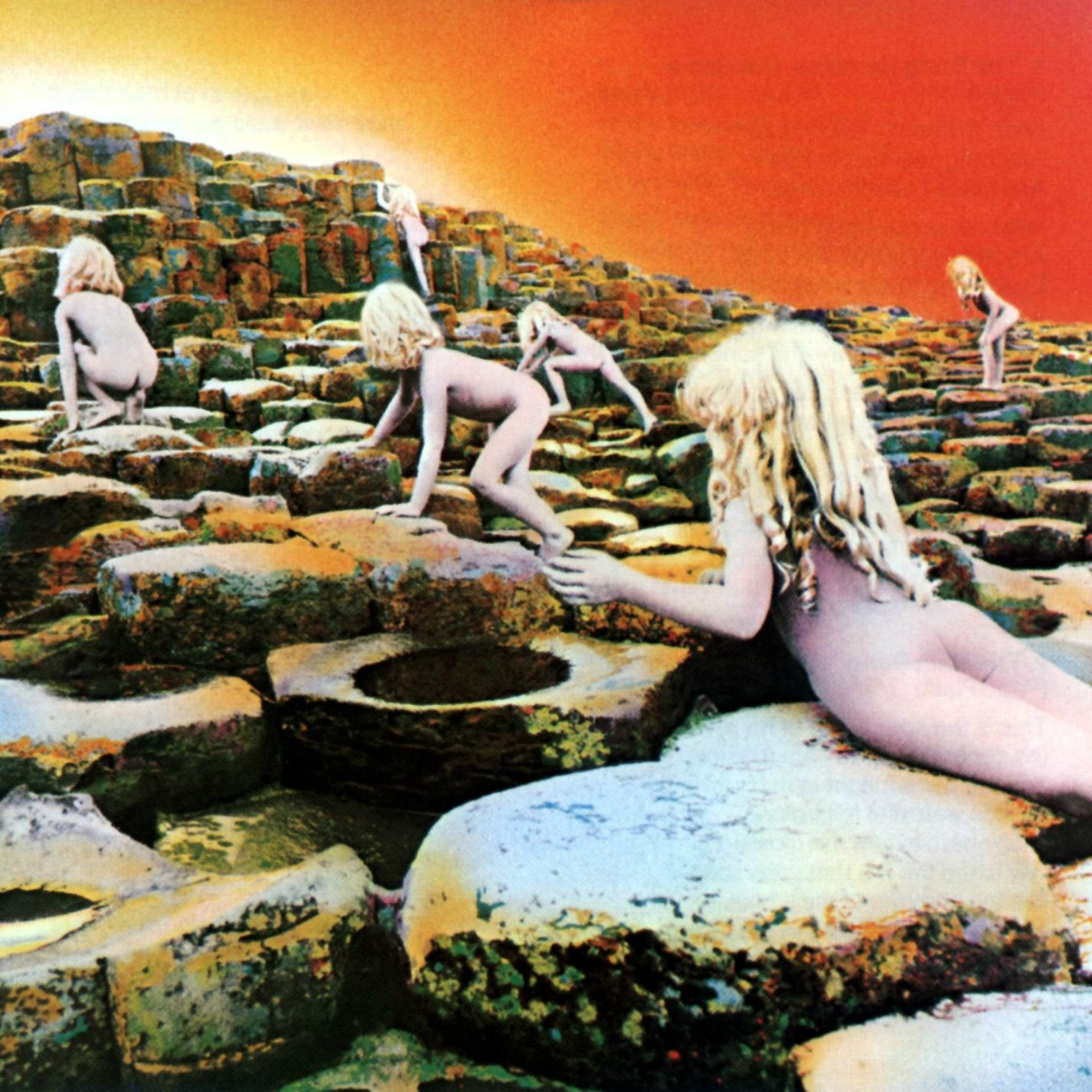 Album cover - Led Zeppelin, Houses Of The Holy, released 1973