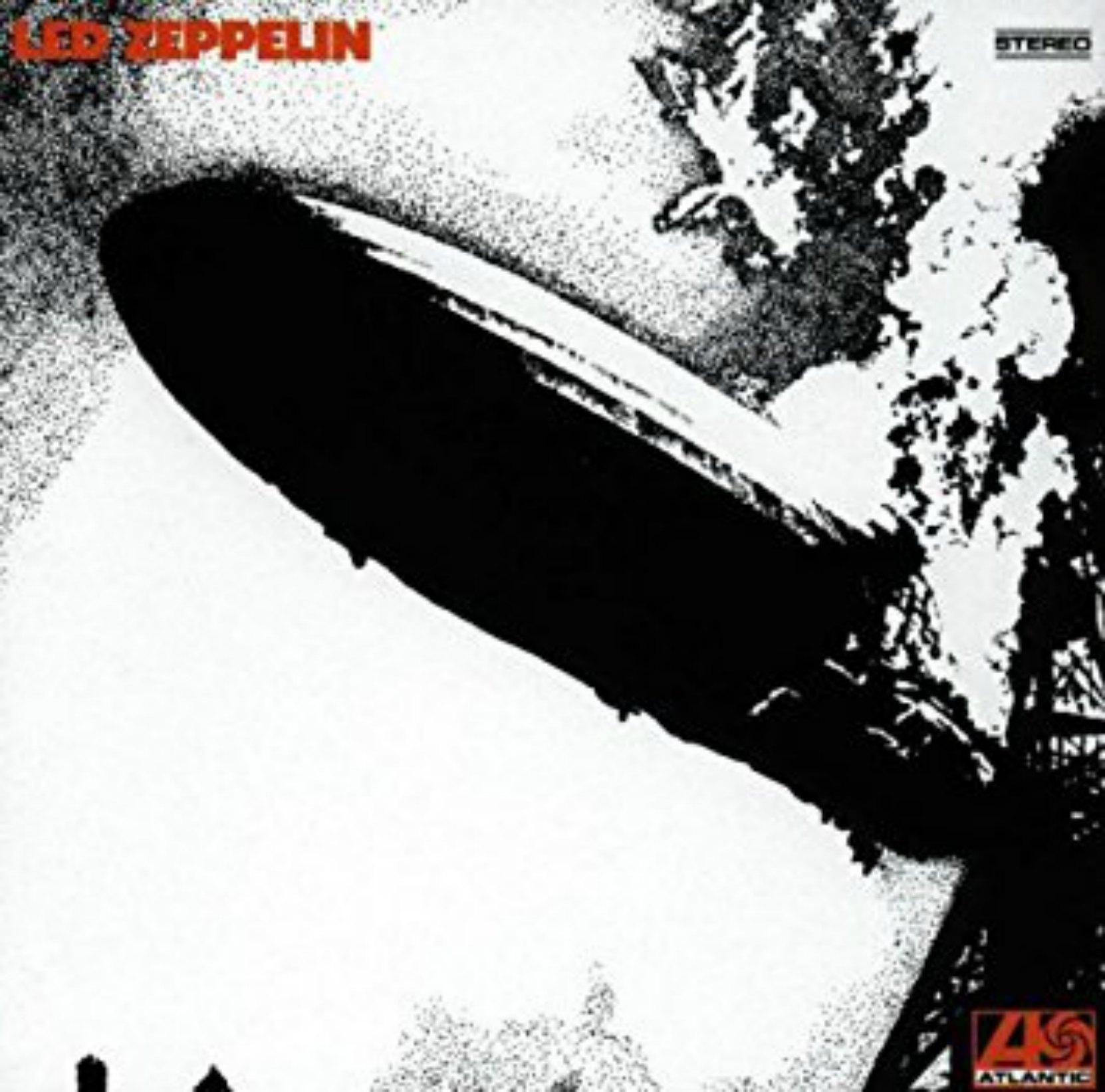 Album cover - Led Zeppelin I, released 1969