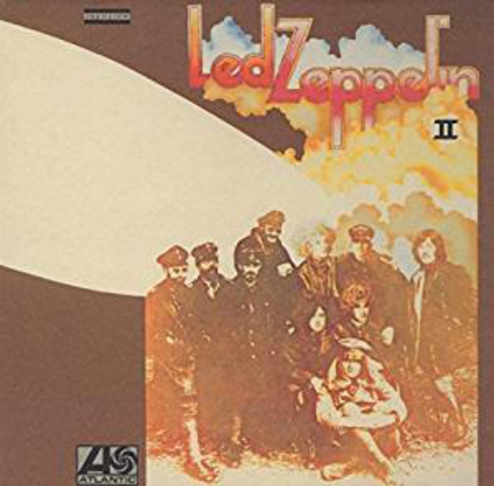 Album cover - Led Zeppelin II, released 1969