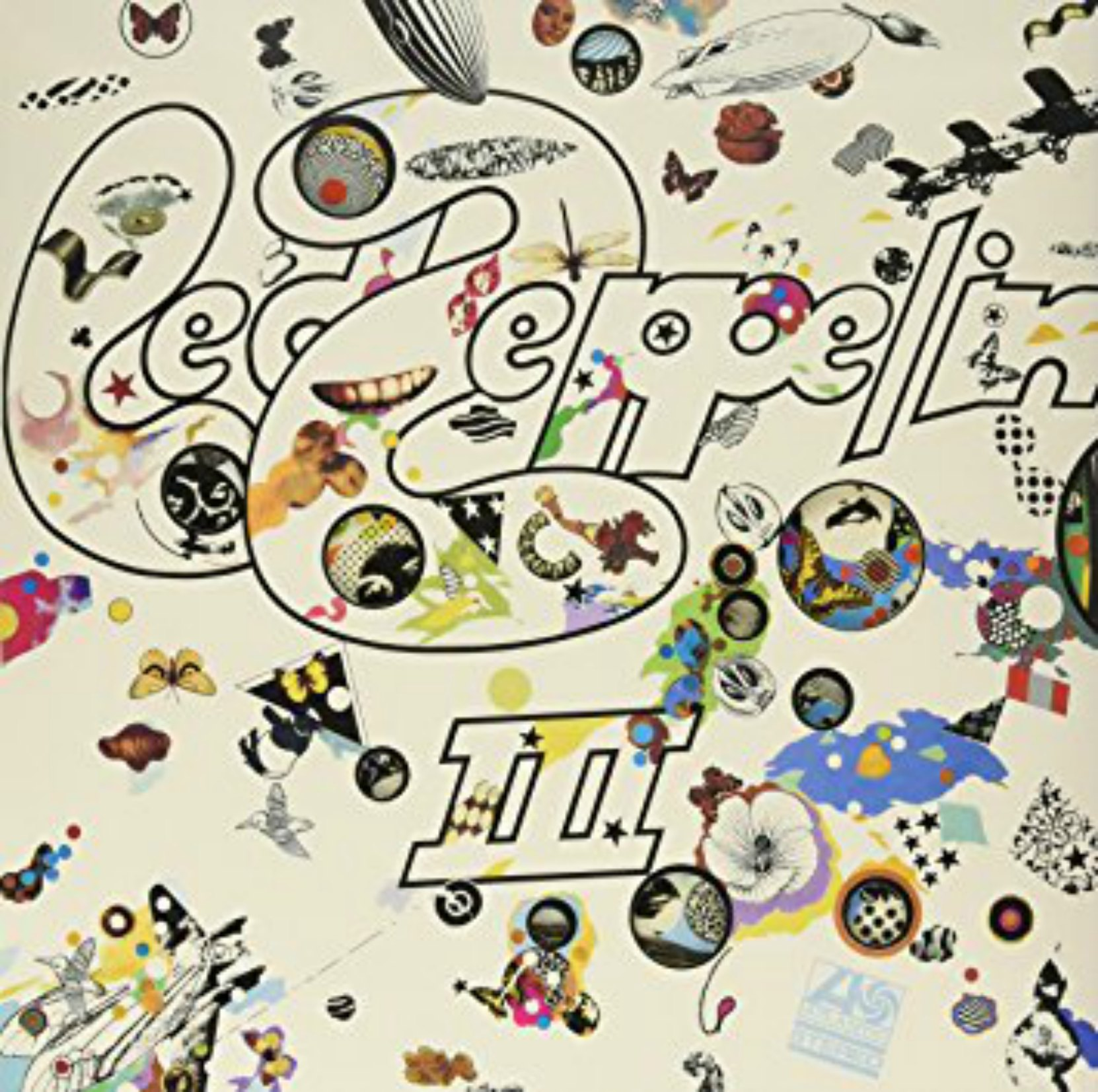 Album cover - Led Zeppelin III, released 1970