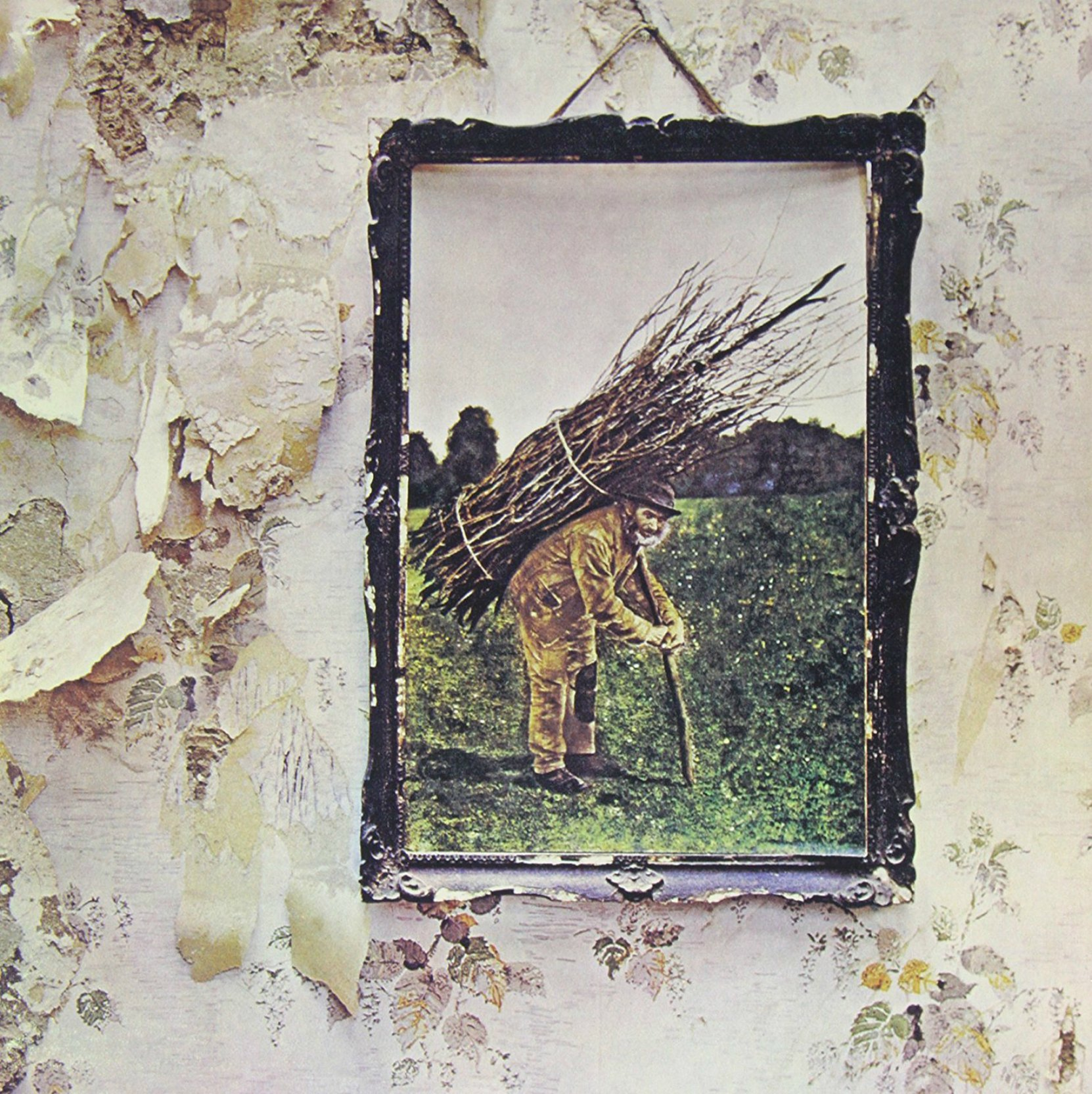 Album cover - Led Zeppelin IV, released 1972