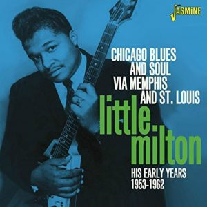 Album cover - Little Milton - His Early Years 1953-1962 - released on Jasmine Records