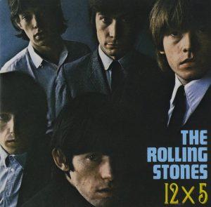 Album cover - Rolling Stones, 12 x 5, released 1965