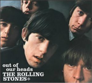 Album cover - Rolling Stones, Out Of Our Heads, released 1965