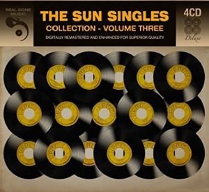 The Sun Singles Collection, Volume Three, released by Real Gone Music, CD cover