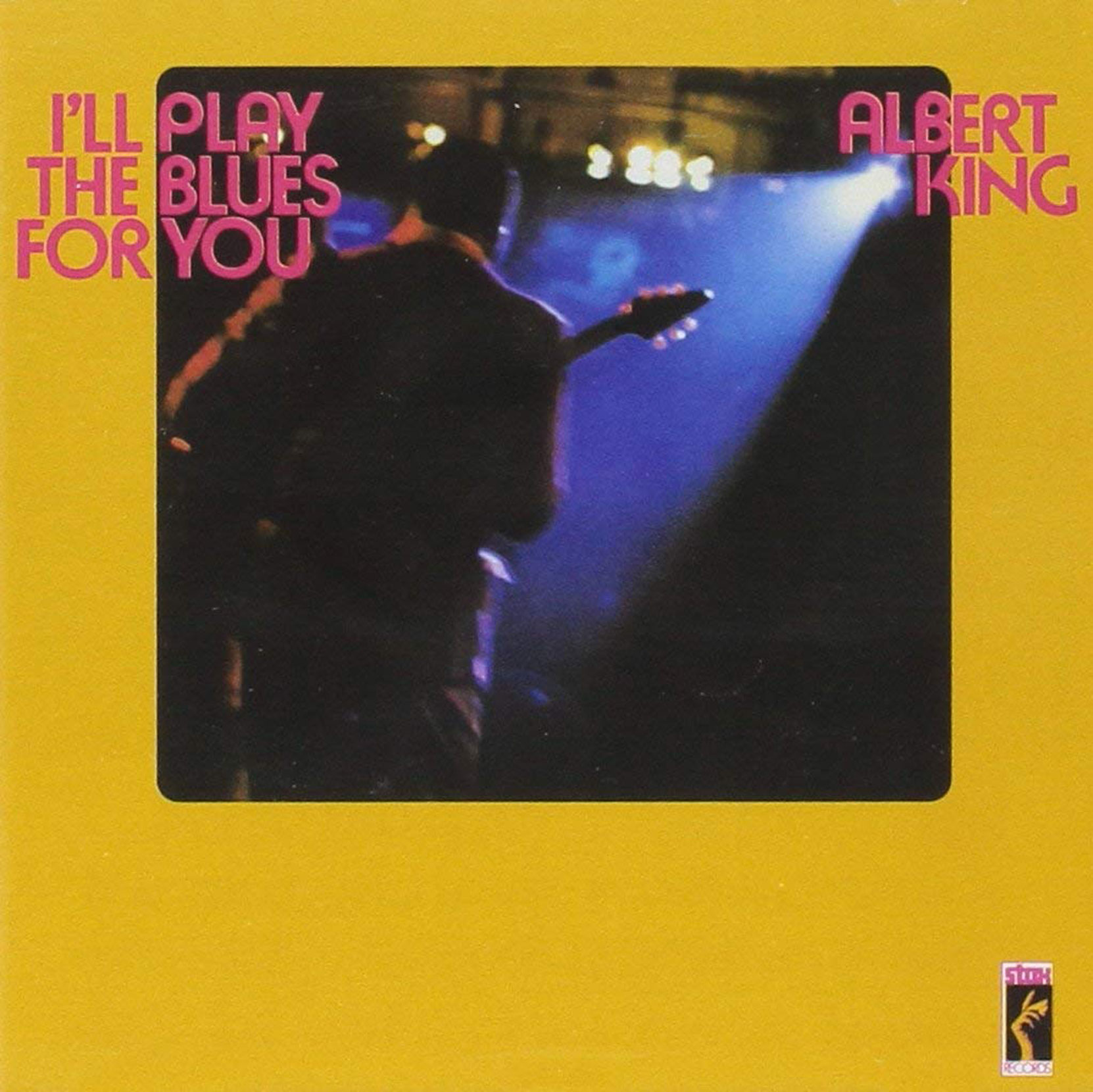 Albert King - I'll Play The Blues For You, released on Stax Records. CD cover.