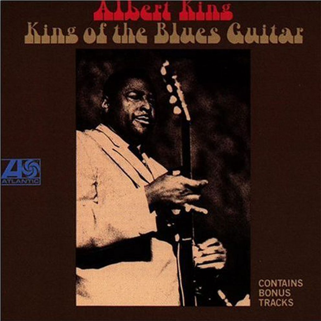 Albert King - King of the Blues Guitar, released on Stax Records. CD cover.