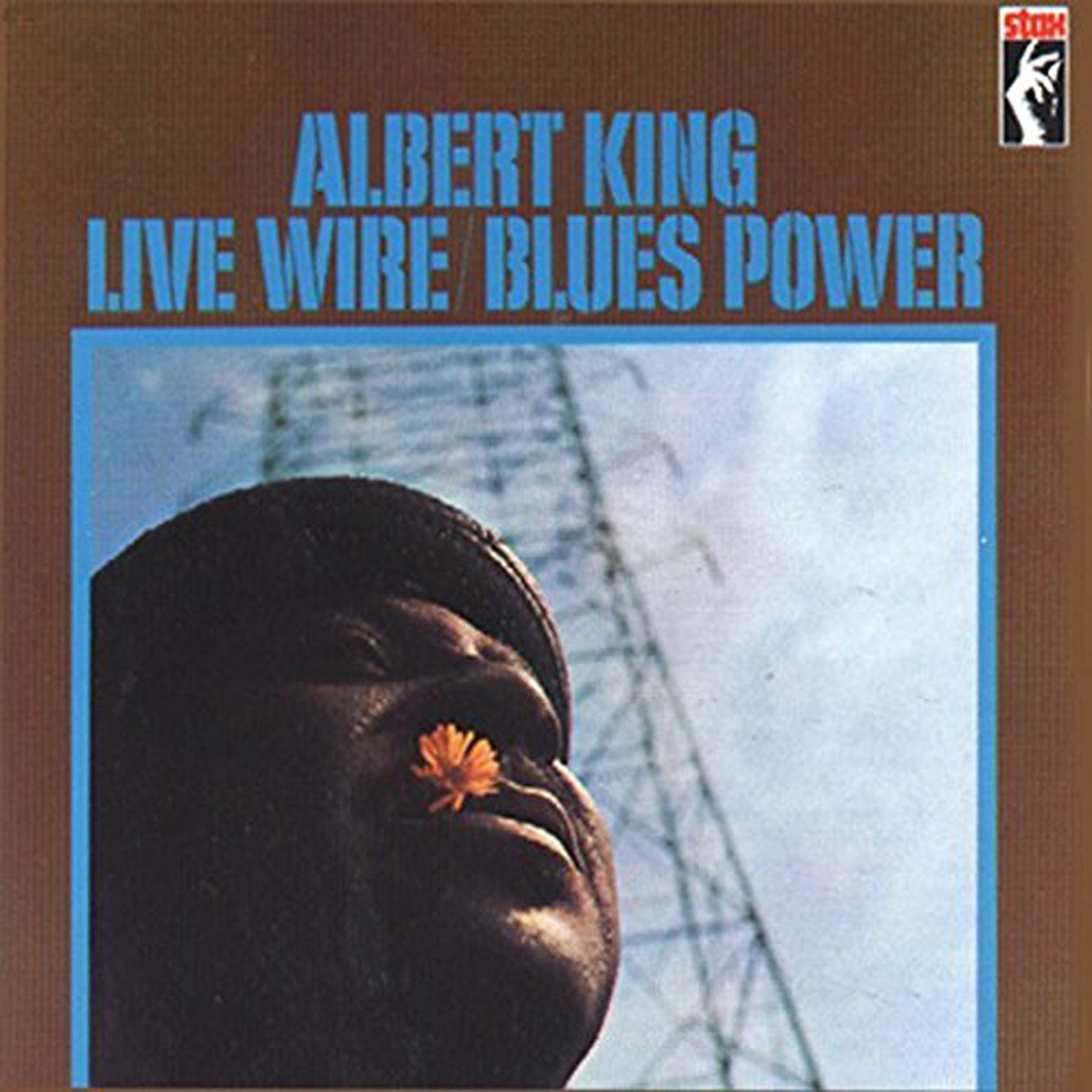 Albert King - Live Wire/Blues Power, released on Stax Records. CD cover.
