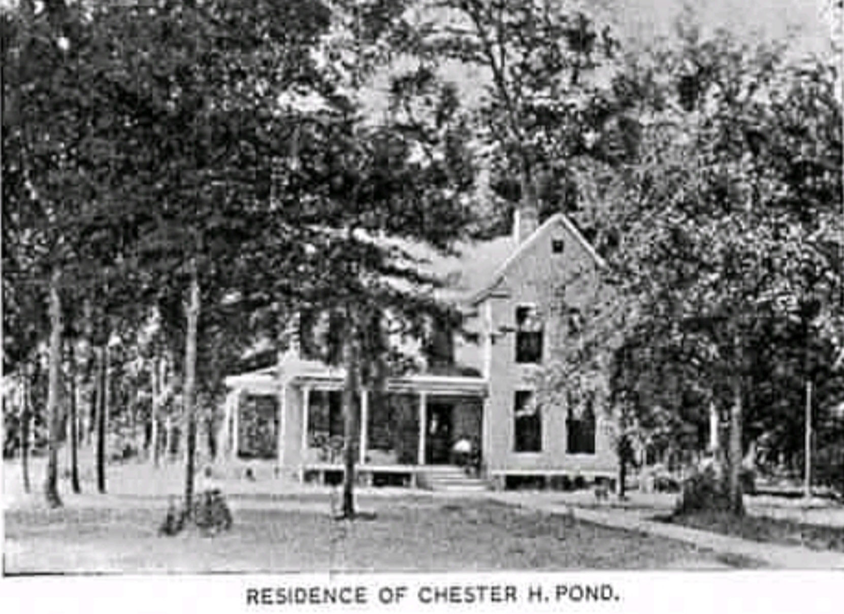 A Moorhead, MS resident sent us this photo of Chester H. Pond's house in Moorhead, Mississippi