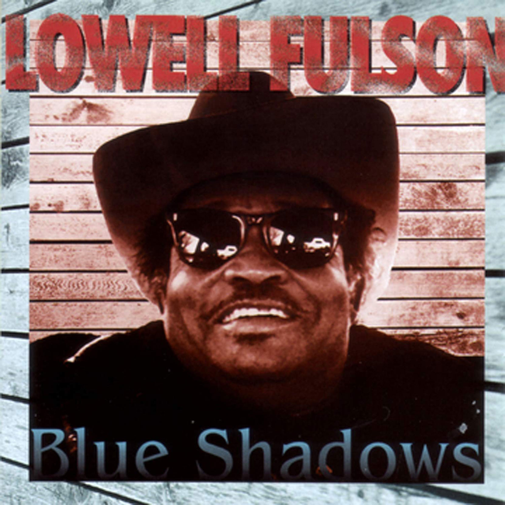 CD cover, Lowell Fulson, Blues Shadows (with the Powder Blues Band), recorded in Vancouver, B.C. in 1982