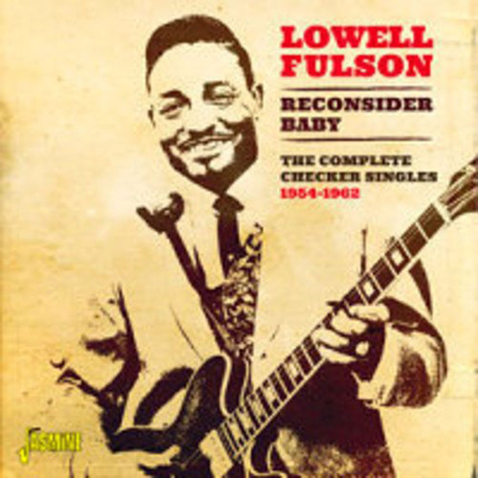 CD cover, Lowell Fulson, Reconsider Baby - The Complete Checker Singles 1954-1962, released on Jasmine Records
