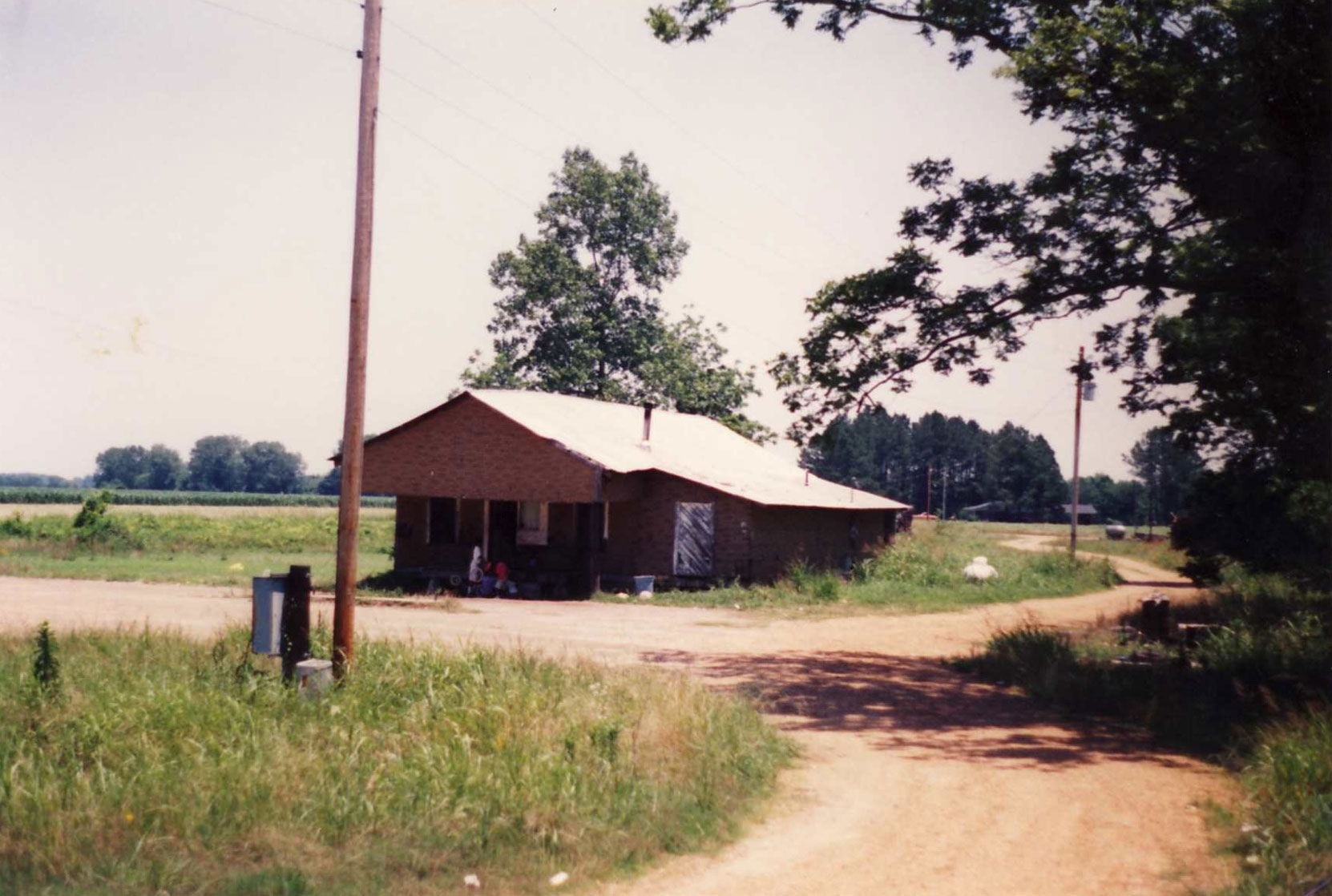The Three Forks store, Quito, Mississippi, circa 1993. It is no longer extant. (photo: Terry Baker)